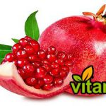 Export of red pomegranate