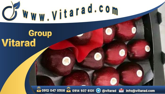Export of red apple to Iraq